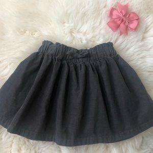 🔸~ Zara~ Corduroy skirt/ Gray ~ 🔸